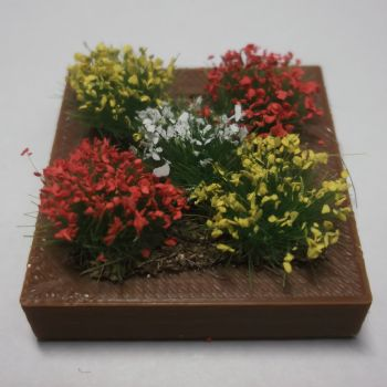 Square Flowerbed